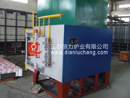 井式真空退火炉采用优质保温材料及耐火材料结构